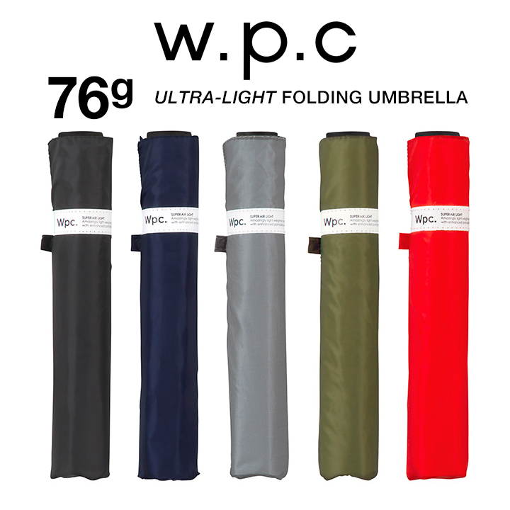WPC レディース折りたたみ傘 Super Air-light Umbrella 55cm MSK55 MSK55, WPC 超軽量76g